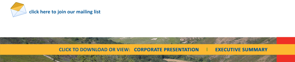 Carube Copper Corp. - mailing list registration and corporate presentation